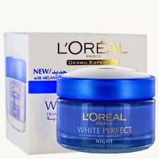 L'oreal Paris White Perfect Transparent Rosy Whitening Night Cream-FREE SHIPPING