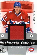 Mike Cammalleri 10/11 SP Game Used Authentic Fabrics #AF-MC