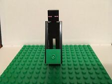 LEGO MINECRAFT ENDERMAN WITH GRASS BLOCK (BRAND NEW)