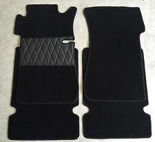 Fußmatten Autoteppich für Mercedes W108 Limousine 4 teilig schwarz Neuware