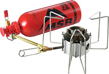 MSR Dragonfly Camping Outdoor Stove Multi Fuel Self Cleaning Shaker Jet, New