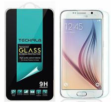 TechFilm® Tempered Glass Screen Protector Saver Shield For Samsung Galaxy S6