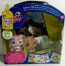 Littlest Pet Shop #1436 Postcard Pink Persian Cat, Blue Eyes.