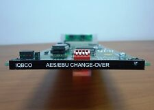 SNELL & WILCOX IQBCO DIGITAL AUDIO CHANGEOVER SWITCH CARD WITH REAR MODULE