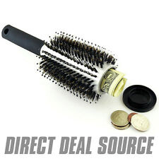 Hairbrush Diversion Safe w/ Concealed Container Case - HIDE JEWELRY MONEY CASH