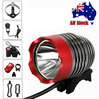 5000lm XML T6 Rechargeable LED Front Head Bicycle Bike Light HeadLight Rear Lamp