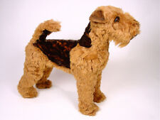 Life-Size Welsh Terrier by Piutre, Hand Made in Italy, Plush Stuffed Animal NWT