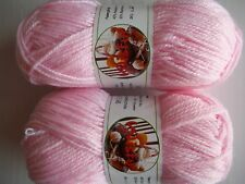 Wisful cashmere blend baby yarn, soft pink (#201), lot of 2 (183 yds ea)