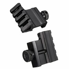 Tactical 45 Degree Angle Offset 20mm Weaver Rail Mount Picatinny Release