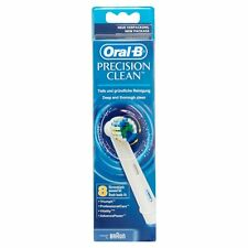 8pcs Genuine Braun Oral B Precision Clean Toothbrush Replacement Heads EB20-8