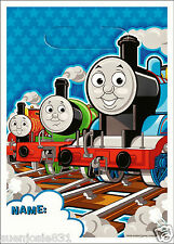 Thomas the Train Tank Engine Treat Loot Sack Bags 8ct Party Favors Supplies