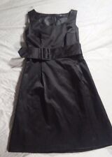 Women's size 10 Cocktail evening Little Black H&M Dress W/Belt