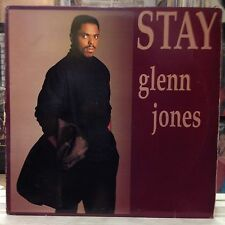 "VG+ 12""~GLENN JONES~Stay~[x4 Mixes]~It's All In The Game~[1986 JIVE Issue]~"
