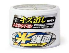 Soft99 Scratch Clear Car Wax White Wax Mirror Finish New for White Color Car
