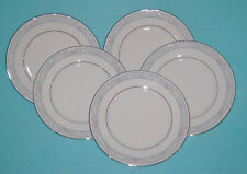 LENOX Fine China Charleston Pattern Salad Plates - Set of 5
