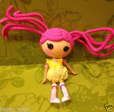 """Crumbs Sugar Cookie Full Size Lalaloopsy Doll 2010 Outfit Shoes Silly Hair 12"""""""