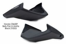 Honda CB650F (2014+) Belly Pan: Matt Black 21053J