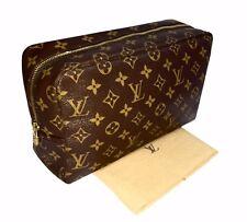 Authentic Louis Vuitton Makeup Trousse Toilette 28 Cosmetic Large Pouch Bag