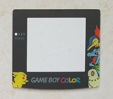 Ecran / Vitre Pokemon Pikachu, Germignon pour Game Boy Color, Gameboy GBC NEUF