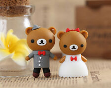 Best gift! 1pcs wedding bear model usb 2.0 memory flash stick pen drive 8GB