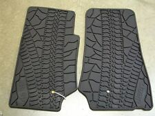 Jeep Wrangler 2 Door JK OEM Floor Slush Mats Black Mopar 82210164AC