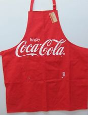 """Coca-Cola Apron """"Classic Red""""  - NWT   FREE SHIPPING"""