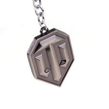 New Wot Game World of Tanks Logo Keychain For Fan Keyring Jewelry Key Rings