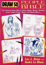 Draw 50 People of the Bible-ExLibrary