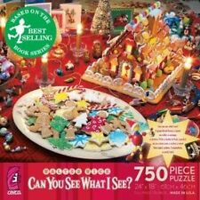 Ceaco Unisex Walter Wick Jigsaw Puzzle Christmas Gingerbread Cardboard 750 Piece