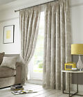 Hawthorne Linen Pencil Pleat Tape Top Fully Lined Ready Made Curtains