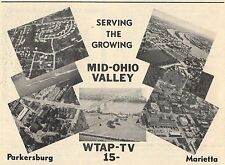 1970 TV AD~WTAP STATION SERVING THE MID OHIO VALLEY~PARKERSBURG,WEST VIRGINIA