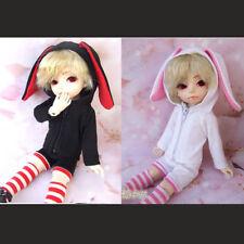 Lovely Rabbit ear black,white color suit(3pcs)for BJD YOSD 1/6 Size Doll Clothes