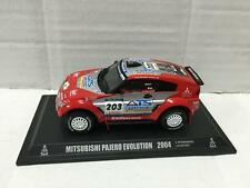 1:43 Norev Mitsubishi PAJERO EVOLUTION 2004 Parigi - Dakar Peterhansel - Cottret