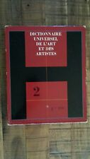 Dictionnaire universel de l'art et des artistes (Art & Artists) - French - 1967
