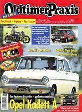 OP0411 + HARLEY-D. Typ D + GUSTLOFF Motorfahrrad + Oldtimer Praxis 11/2004