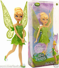 """TINKER BELL ~DISNEY STORE~ RETIRED CLASSIC 10"""" FAIRY DOLL FREE PRIORITY SHIPPING"""