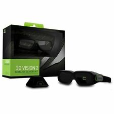 nVIDIA 3D Vision 2 Wireless Glasses Kit - For Monitor, Notebook, All-in-One PC,