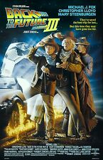 Back To The Future III movie poster print  : Michael J. Fox : 11 x 17 inches