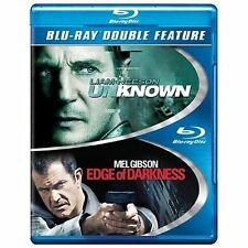 NEW NOT SEALED GENUINE USA 2 BLU RAY GIBSON NEESON UNKNOWN EDGE OF DARKNESS