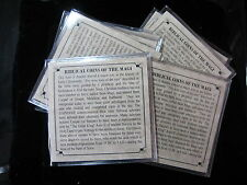 1 - PREMIUM GRADE Christ Ancient Roman Bible Coins of the Magi mini-album  JESUS