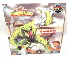 "INHUMANOIDS Book Golden  - BRAND NEW UNUSED 1987     ""A Monster Among Us"""
