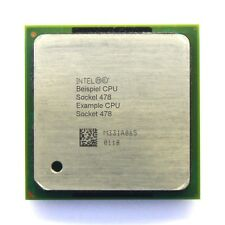 Intel Pentium 4 SL62P 1.80GHz/512KB/400MHz FSB Socket/Sockel 478 Northwood CPU