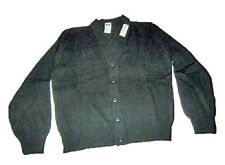 US ARMY MILITARY SURPLUS PREP BLACK CARDIGAN WOMENS SWEATER XL MITTS NITTS