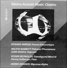 Elctro Acoustic Music: Classics New CD