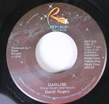 "Country 45 David Rogers - Darlin"" / How Long Has It Been On Republic Records"