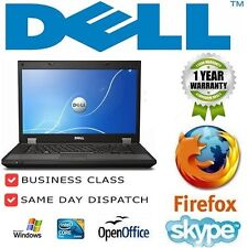 "Laptop Dell Latitude E4300 13.3"" 2GB 250GB Windows 7 Original Cámara web Grado B"