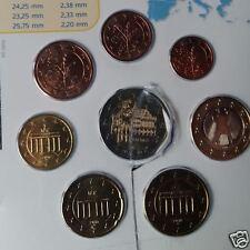 manueduc  ALEMANIA  2010  Las 8 Monedas Nuevas con 2 Euros Conmemorati  BREMEN