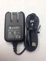 NEW OEM MOTOROLA SPN5185 W450 ACTIVE W490 W755 A3100 HOME WALL TRAVEL CHARGER