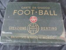 CARTE DA GIOCO BERTINO 1947 TORINO FOOT BALL CALCIO ORIGINALI VINTAGE NOS