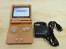Nintendo Game Boy Advance GBA SP Copper Orange System AGS 101 Brighter MINT NEW